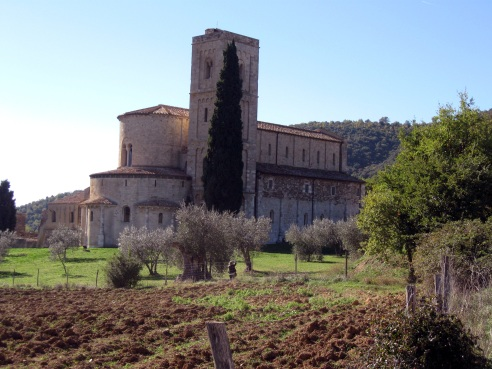L'abbazia di Sant'Antimo