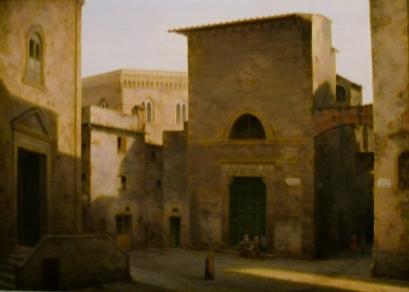 Fabio Borbottoni, la chiesa di Sant'Andrea