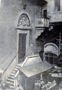 Cartolina dell'album di Firenze vecchia: San Pier di Buonconsiglio