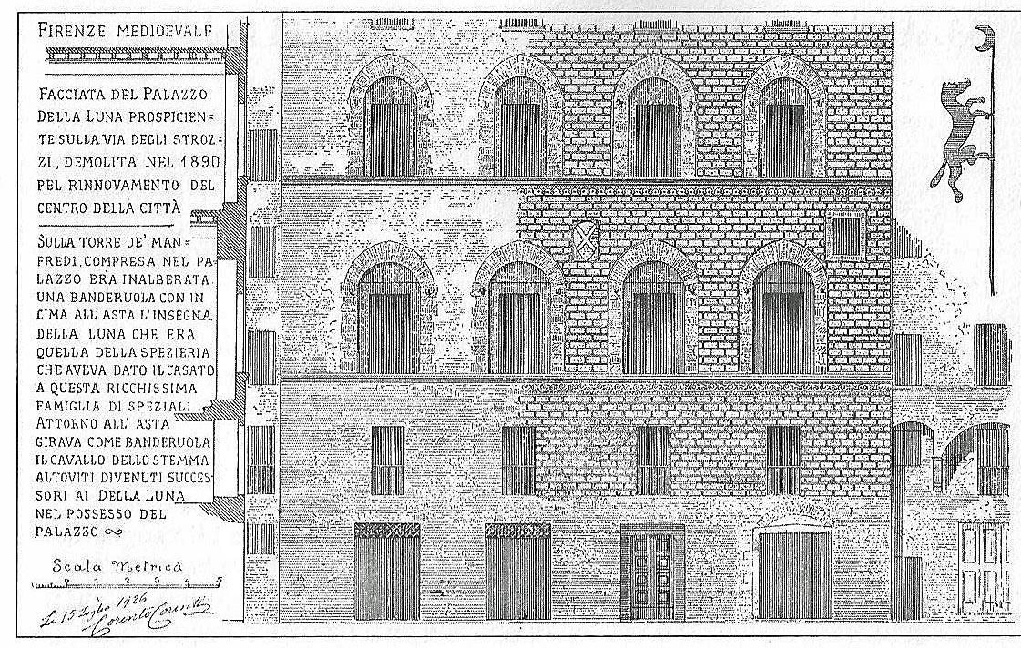 Nelle cartoline di corinto corinti firenze medievale for Firenze medievale
