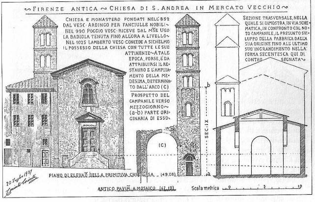 Corinto Corinti La chiesa di Sant'Andrea