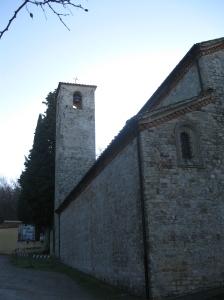 La pieve di San Cresci a Pacioli, il campanile