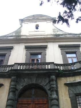 Montegufoni la facciata