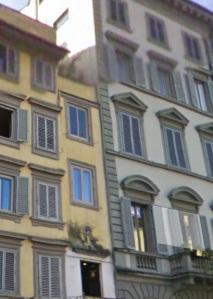 Piazza San Giovanni Il Vicolo della Malvagia scomparso tra i palazzi oggi esistenti.