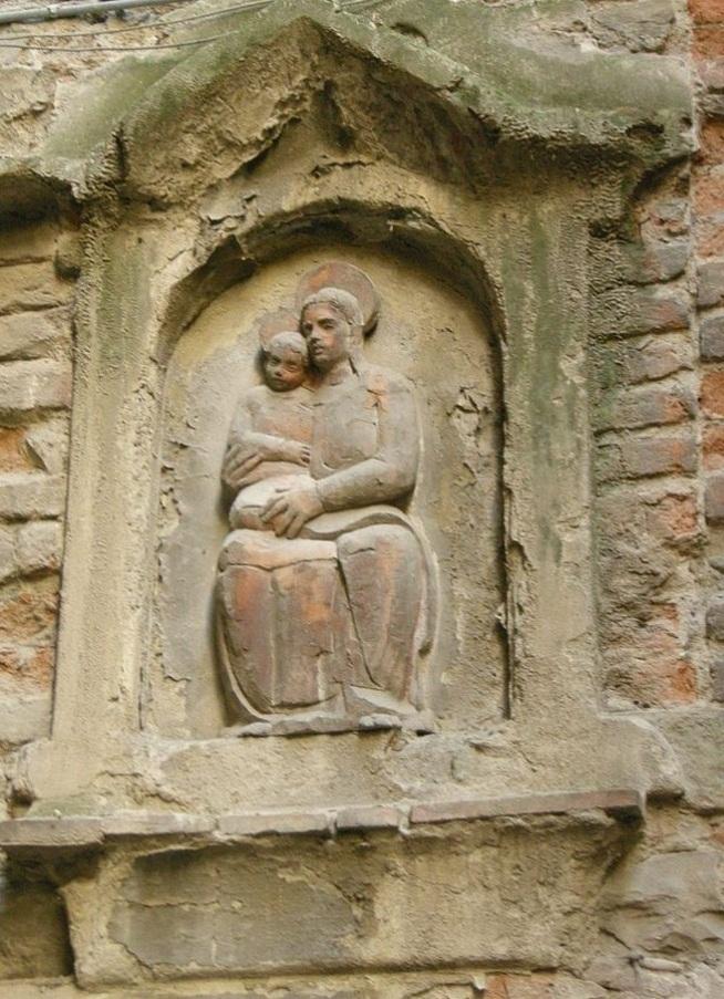 Vicolo del Panico, tabernacolo.