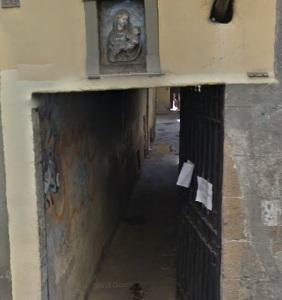 Vicolo Vecchio del Panico da Via del Corso