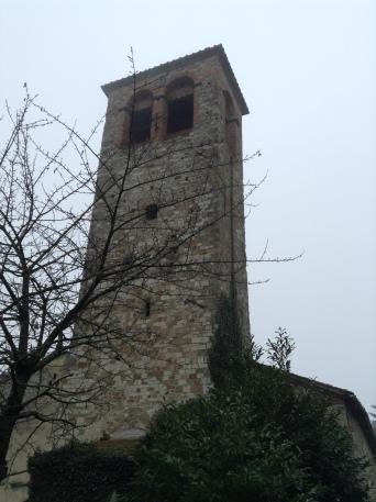 San Gavino Adimari, la torre campanaria