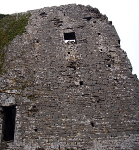 Il cassero del castello di Montegrossoli