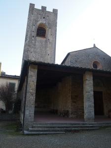 Chiesa di San LOrenzo il portico