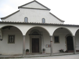 Panzano San Leolino la facciata