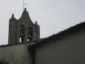 Panzano San Leolino la torre campanaria