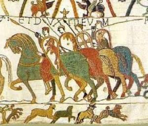 Araldica negli scudi di cavalieri medievali