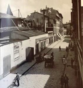 Via Tedesca, ribattezzata via Nazionale dopo il 1859
