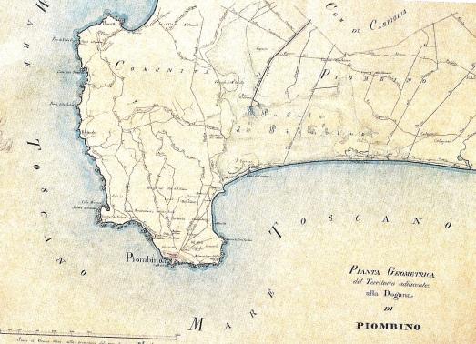 Circoscrizione di Piombino (1830)