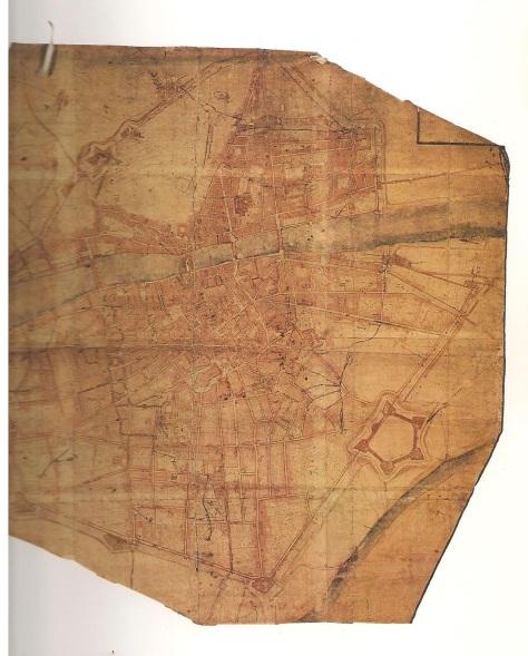 Firenze in una pianta del XVII secolo