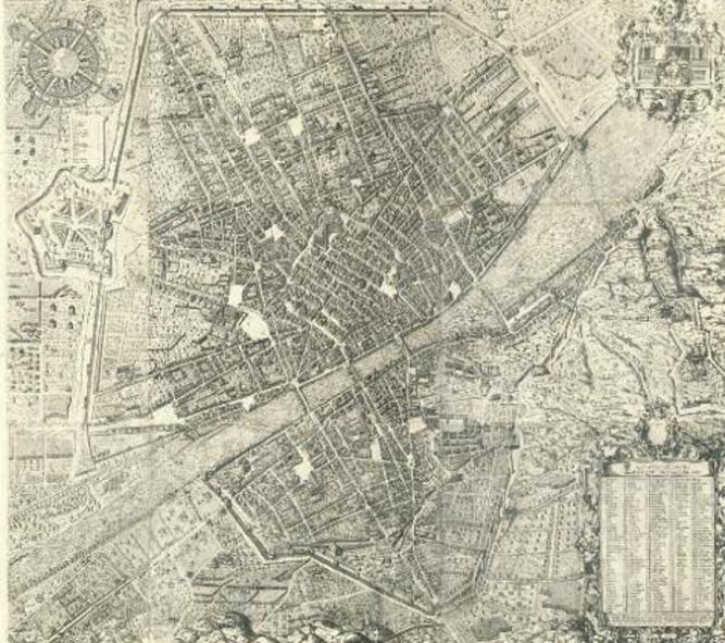Firenze in antiche mappe tuttatoscana firenze in una veduta cinquecentesca stefano bonsignori pianta di firenze 1584 altavistaventures Images
