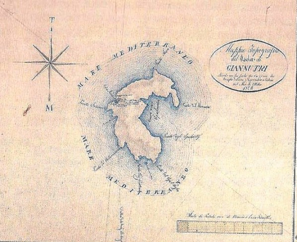 Isola di Giannutri (1826)