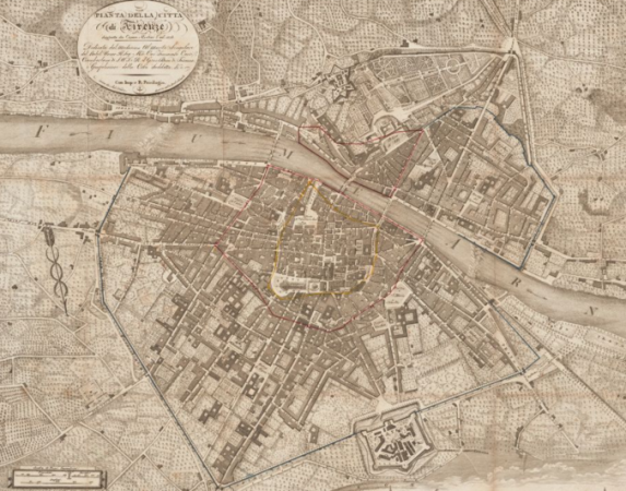 Firenze nel 1818