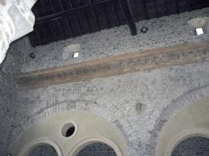 Pieve di Santo Stefano a Sorano la decorazione interna