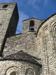 Pieve di Santo Stefano a Sorano uno scorcio della torretta campanaria