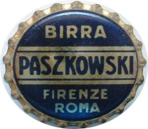 Un tappo che riporta il marchio della birra