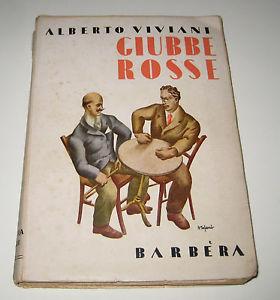 La copertina del libro di Viviani edito nel 1933 dal titolo Giubbe Rosse