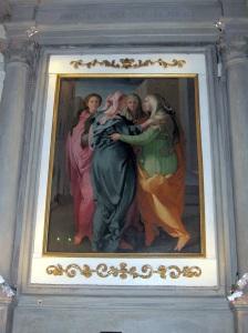Carmignano chiesa di San Michele la Visitazione del Pontormo