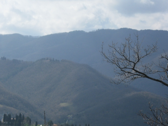 Uno scorcio della valle