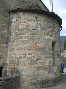 Rincine La pieve di Sant'Elena l'abside