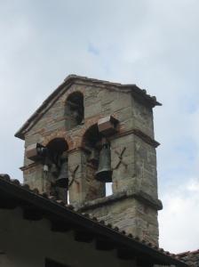 Rincine la torretta campanaria della pieve di Sant'Elena