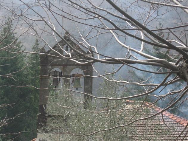 Fornace la torretta campanaria della chiesa di San Lorenzo