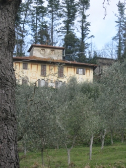 Fornace, Villa Gori la facciata