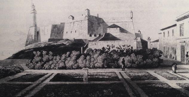 Portoferraio forte Stella e i giardini dell'imperatore
