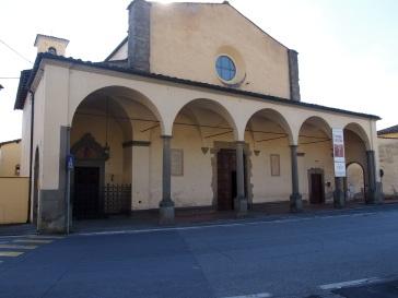 Carmignano, chiesa di San Michele la facciata
