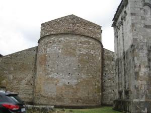 San Piero a Grado l'abside settentrionale