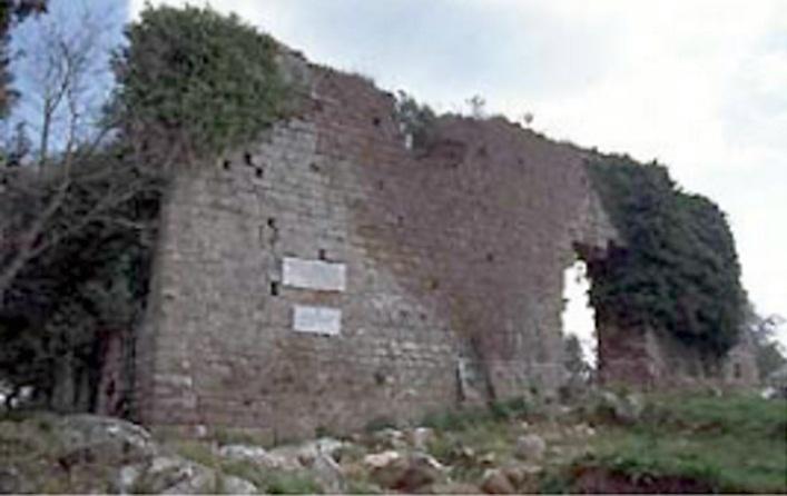 Castel di Pietra (Gavorrano) i ruderi