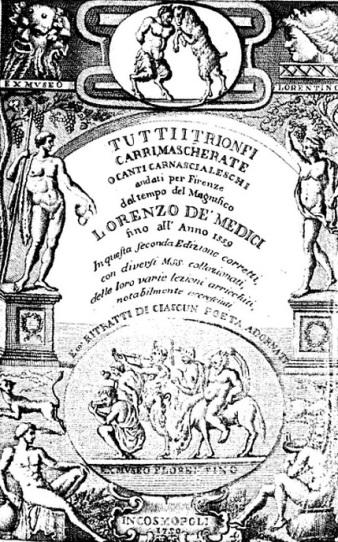 """Copertina di """"Tutti i trionfi, canti"""