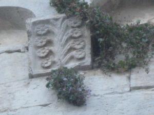Diecimo, una delle formelle che decorano l'abside