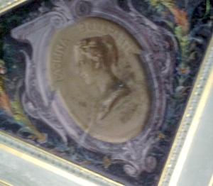 Medaglione con Paolina Bonaparte, particolare