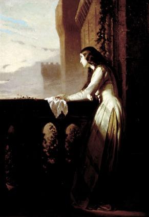 Pia de' Tolomei in una tela di Stefano Ussi