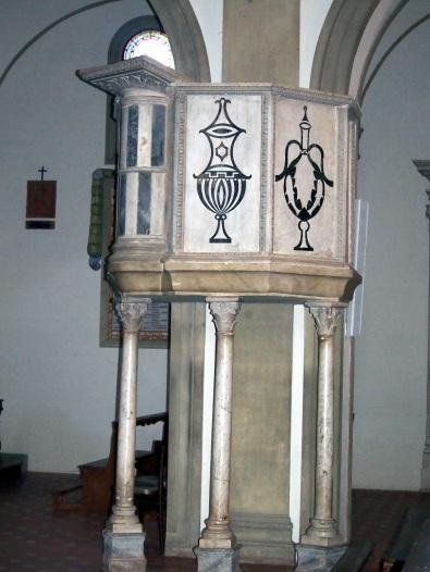San Giovanni Maggiore, ambone