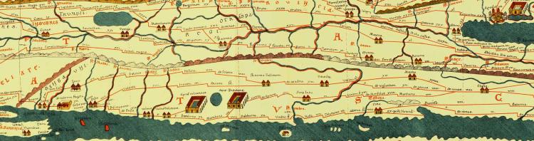 Le strade romane dell'Etruria rappresentate nella Tabula Peuringeriana