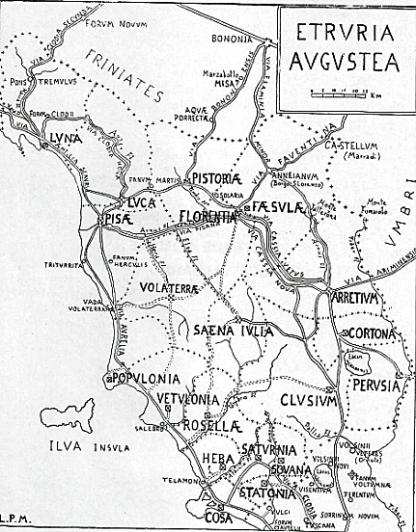 Le strade romane dell'Etruria