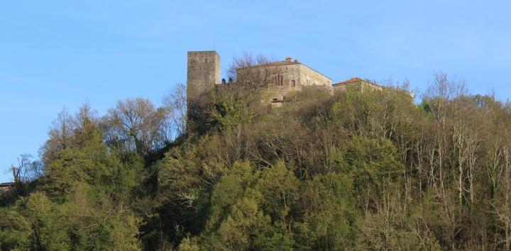 Castiglione del Terziere, il castello