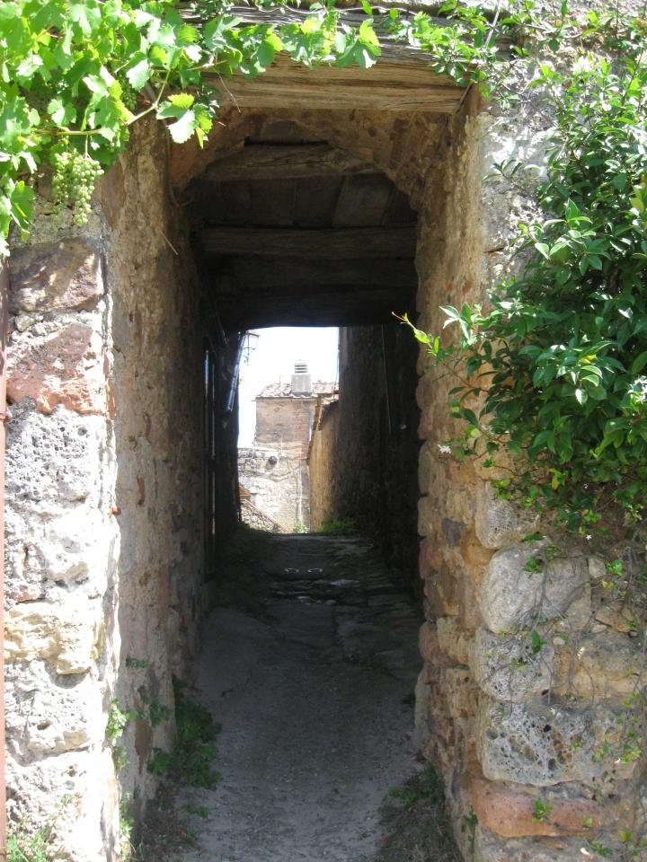 """IL castello di Tocchi un """"passaggio"""" tra le mura"""