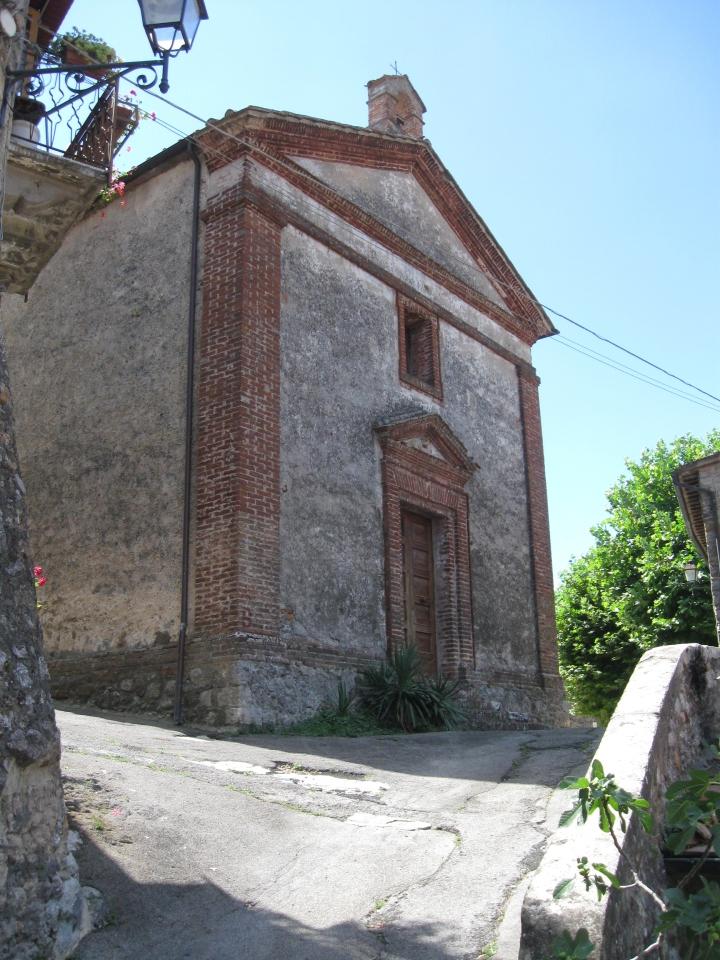 San Lorenzo a Merse la chiesa della Compagnia della Misericordia