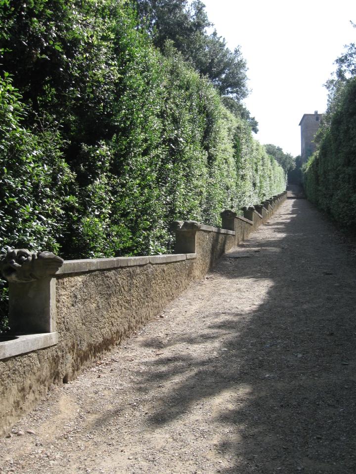 Boboli, la Fontana dei Mostaccini