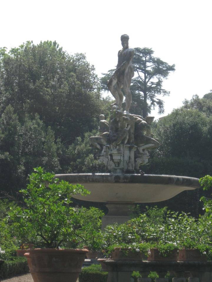 Giardino di Boboli la Fontana dell'Oceano