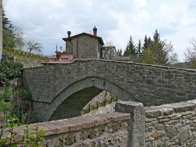 Ponte alla Piera, ponte medievale