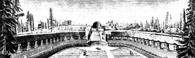 L'Anfiteatro di Boboli in una stampa antica